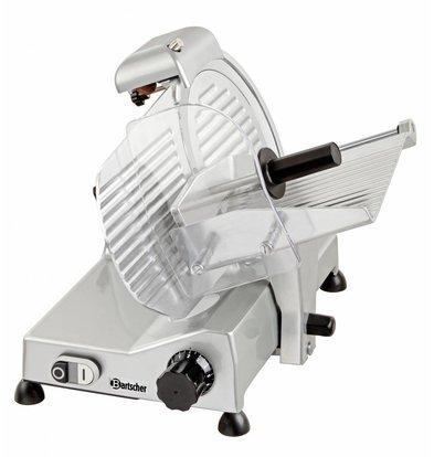 Bartscher Professional meat slicer | 230V | 240W | Diameter 250mm | 430x510x375 (H) mm