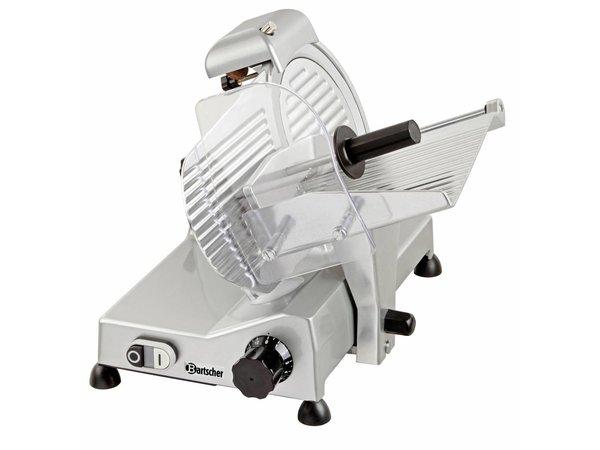 Bartscher Snijmachine Slagerij | Aluminium | 240W | Ø220mm | 410x475x360(H)mm