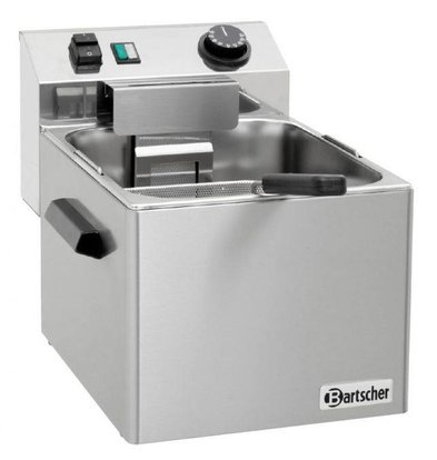 Bartscher Electric Pasta Cooker SNACK | Stainless steel | 7 Liter | 3,4kW | 230V | 270x420x (H) 300mm
