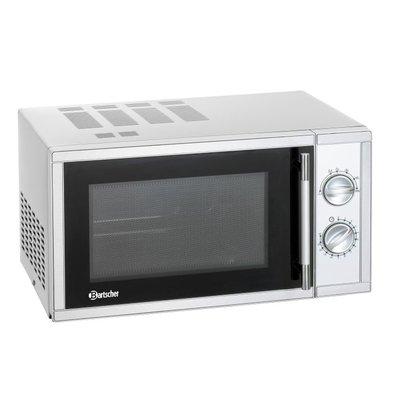 Bartscher Microwave Stainless Steel - 900W - 23 liters