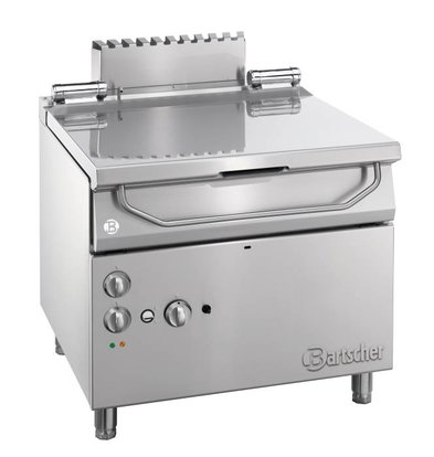 Bartscher Kantelbare Braadpan | Gas/Elektrisch | Serie 900 | 900x900x(H)850-900mm
