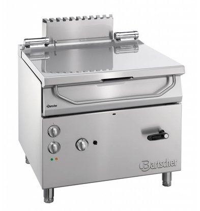 Bartscher Gas Tilting Fryer | Series 900 | 19 kw | 230V | 900x900x (H) 850-900mm
