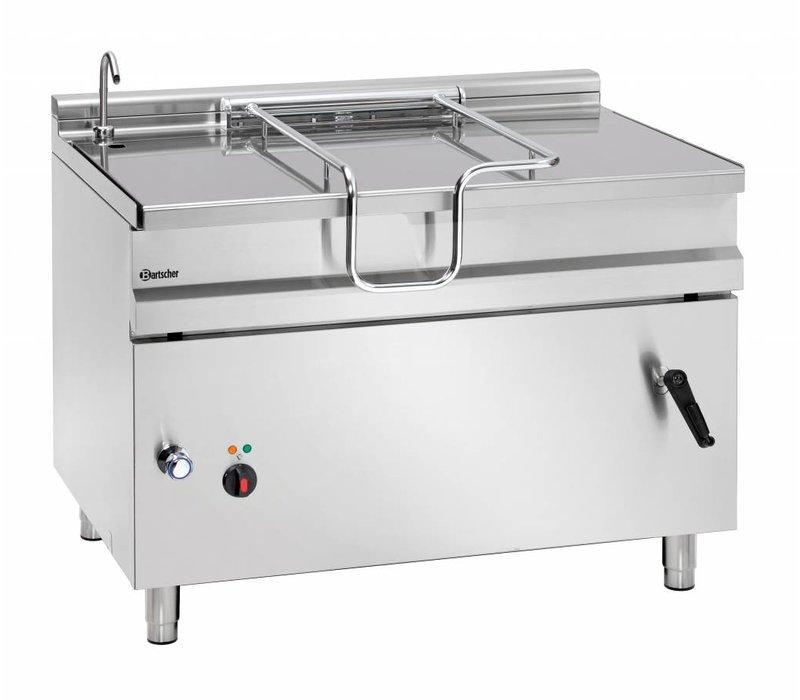 Bartscher Elektrische Kantelbare Braadpan | Kantelwiel |14,8kw | 400V | 1200x900x(H)900mm