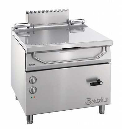 Bartscher Electric Tilting Fryer | Series 900 | 9 kw | 400V | 900x900x (H) 850-900mm