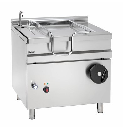 Bartscher Electric Tilting Fryer | With Manual Tilt Wheel | 9.9 kw | 400V | 900x900x (H) 900mm