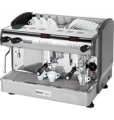 Bartscher Bartscher Coffee Line G2 plus | Equipped with three boilers | 2 Steam Pipes | 677x580x (H) 523mm