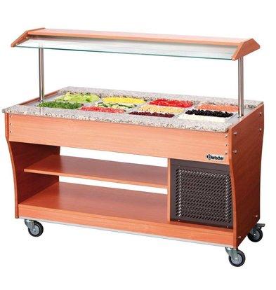 Bartscher Gastro Buffet T - Saladebar 4 x 1/1 GN