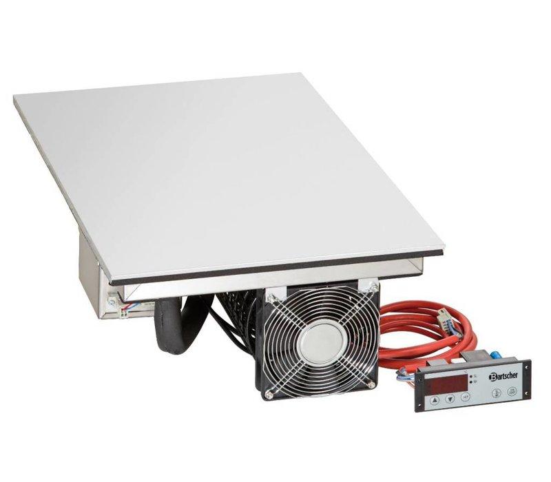 Bartscher Elektrische Combi-plaat - Koud en Warm - 1/1 GN - 53x33x(h)18cm