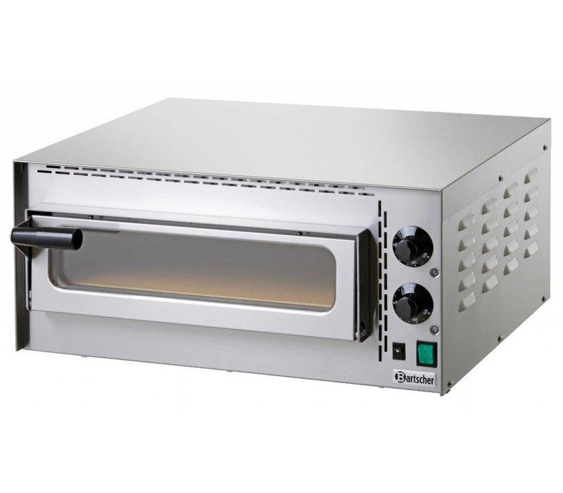 Bartscher Pizza Oven Enkel Elektrisch | 1 Pizza 35cm | Mini Plus | 575x525x(H)270mm
