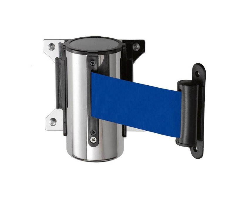 Saro Wall system barrier post Stainless steel blue Basic 3M