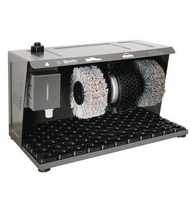 Heute Schoenpoetsmachine Easy Comfort | 3 Borstels | Staal - Grafiet Kleur | 490(l)x320(d)x310(h)mm