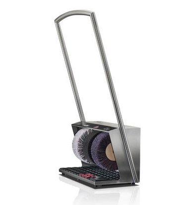 Heute Shoe shine machine Polifix 2 Plus | 3 Brushes | Steel - Available in 5 Colors | 560 (L) x320 (d) X1020 (H) mm