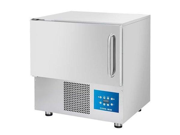 CaterCool Snelkoeler CaterCool RVS | 760x700x(H)850mm | 5x 1/1 GN