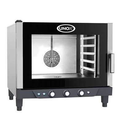 Unox Convection Oven XV393 Cheflux Manual | 750x770x (H) 770mm | 400V | 5x 1/1 GN