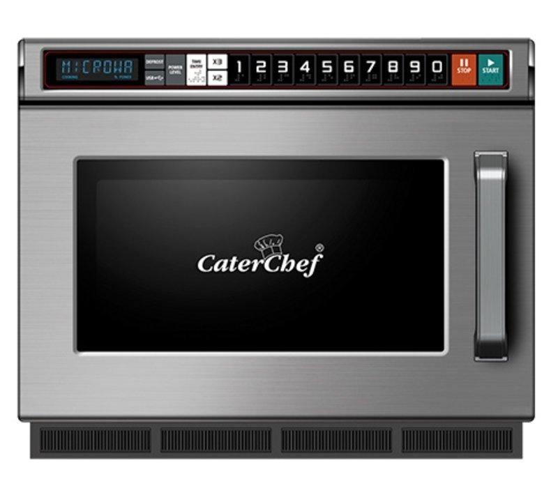 Caterchef Magnetron CaterChef RVS | 10 Kookprogramma's | met Usb Aansluiting | 17 Liter