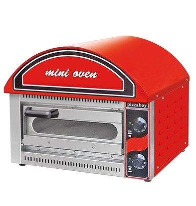 XXLselect Mini Pizza oven | 50-320 ° C | 2500W | 530x430x (H) 540mm