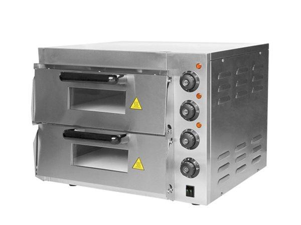 Caterchef Pizza Oven RVS | 50°C-350°C | 3000W | 560x560x(H)440mm