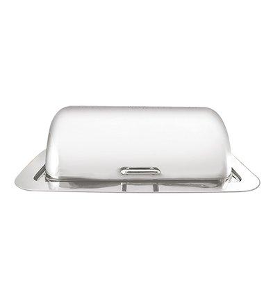 XXLselect Chafing Dish Elektrisch Inbouw | Hoogwaardig RVS 18/10 | 500Watt | 710x530x(H)280mm