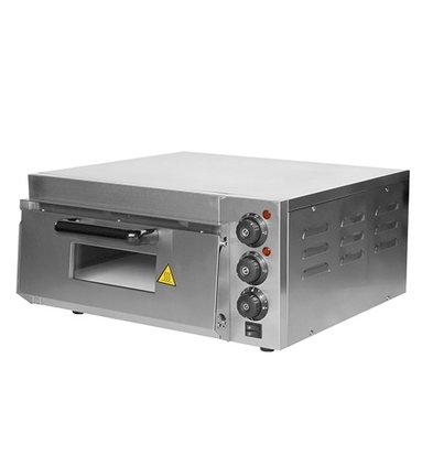 Caterchef Pizza Oven RVS | 50°C-350°C | 2000W | 585x560x(H)263mm