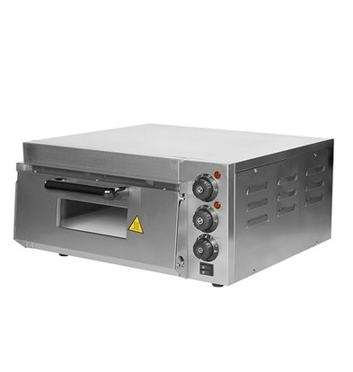 Caterchef Pizza Oven Stainless steel | 50 ° C to 350 ° C | 2000W | 585x560x (H) 263mm