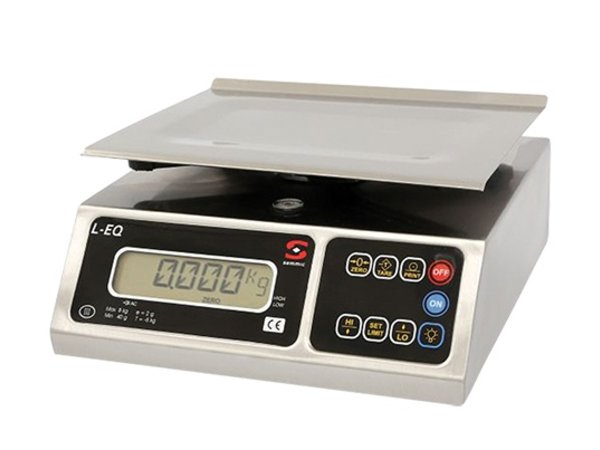 XXLselect Electronic Scale | Stainless Plateau | 04kg / 01gr | 250x250x (H) 130mm