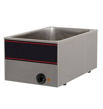 XXLselect Bain Marie Neutral SS | 1 / 1GN | 1000watt | 540x340x (H) 230mm