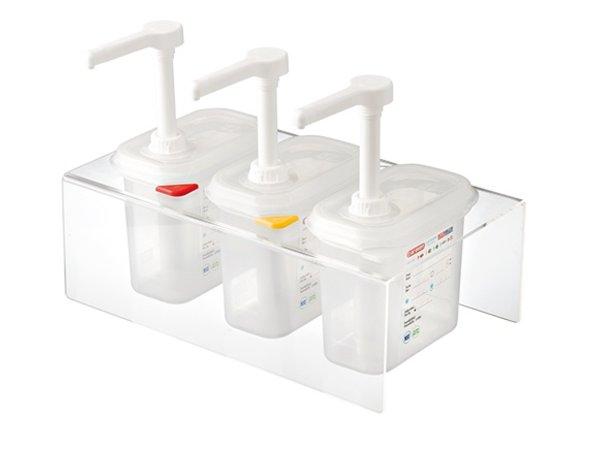 Araven Dispenser unit | 3x 1/9GN Set