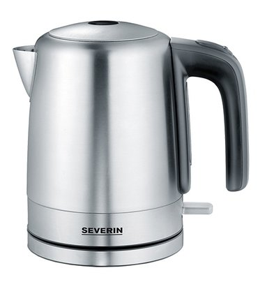 XXLselect Stainless steel kettle | Heat resistant handle | 190x140x (H) 210mm | 1 Litre