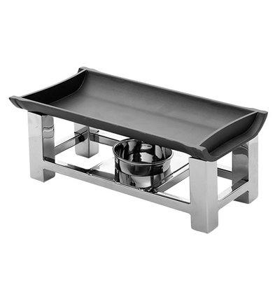 XXLselect Snack/Serveerwarmer RVS 18/10 | 300x150x(H)120mm