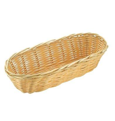 XXLselect Oval basket Polypropylene   360x150x (H) 70mm