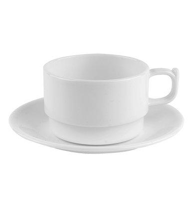 XXLselect Cup Polycarbonate Health White   20cl