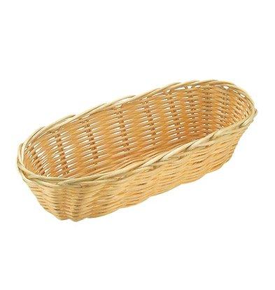 XXLselect Oval basket Polypropylene   215x100x (H) 60mm