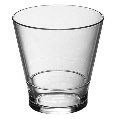XXLselect Borrel/Whisky Glas Polycarbonaat   Stapelbaar   25cl   Ø82x(H)84mm