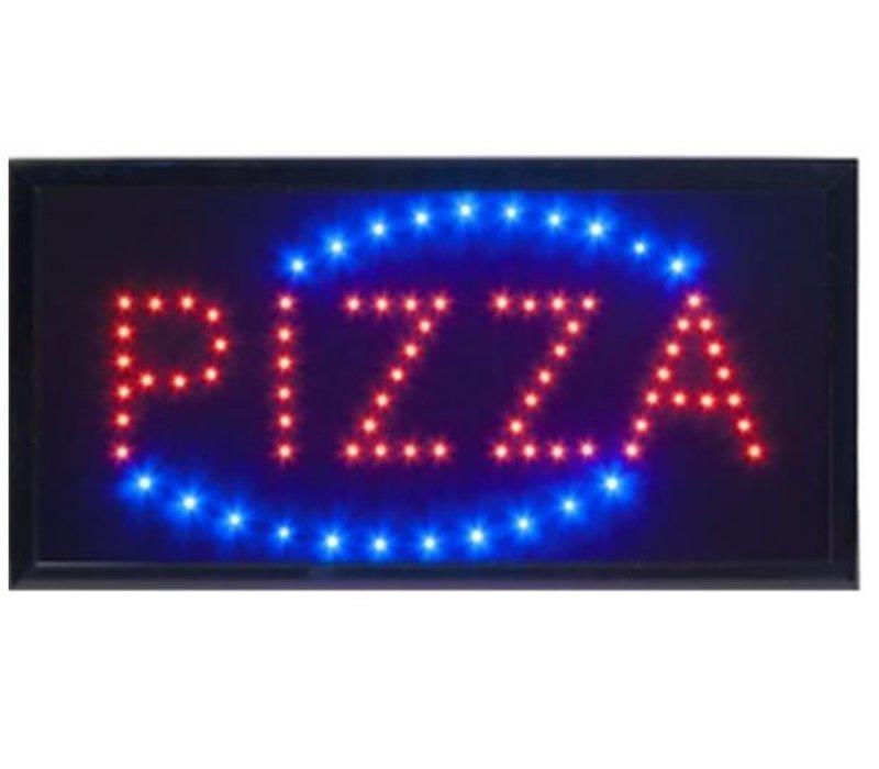 Securit LED Bord 'Pizza' | 48x24x2cm