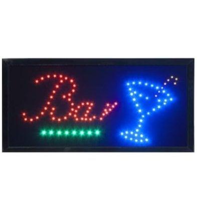 Securit LED board 'Bar' | 48x24x2cm