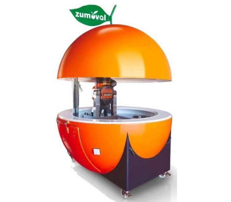 Zumoval Kiosk Zumoval | Incl. Wheels, Laundry, Water | Opened height 3.13m