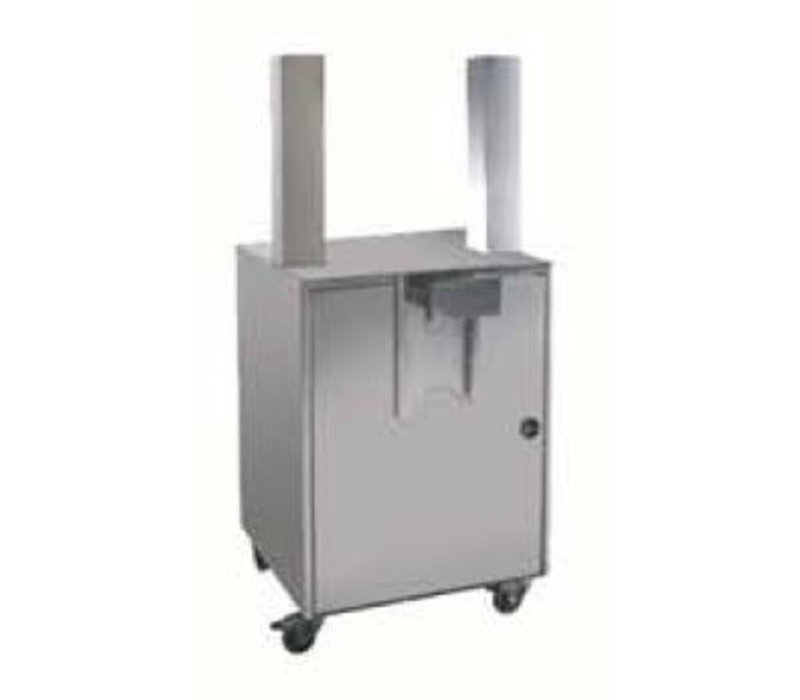 Zumoval Self Service Stand | Zumoval Onderstel voor: Basic, BigBacis, Top, FastTop