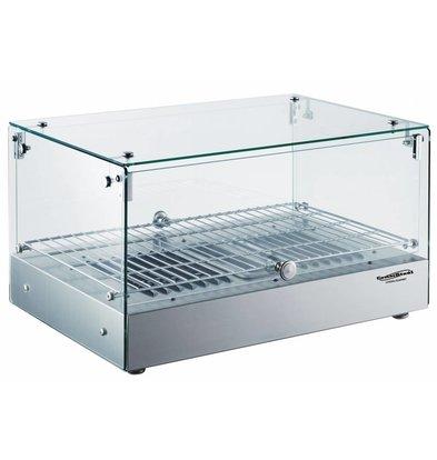 Combisteel Warming Showcase 35 Liter | 800W | 554x361x311 (h) mm