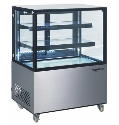 Combisteel Refrigerated display case 270 Liter | Forced, Refrigerant R134A | 915x675x1210 (h) mm