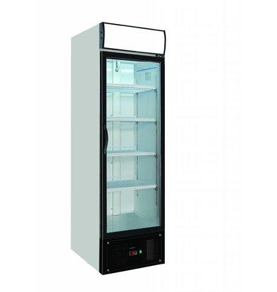 Combisteel 1 glass door freezer | 460 Liter | Forced, Refrigerant R404A | 620x712x2052 (h) mm
