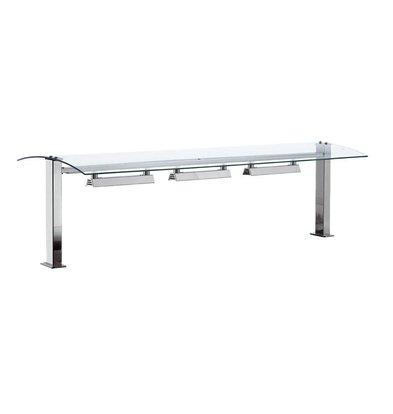 Combisteel Verwarmde Glasbrug 2/1 | Drop-In | 350W | 2x GN1/1 | 844x540x437(h)mm