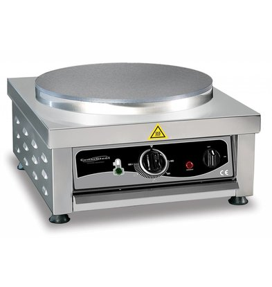 Combisteel Crepes Maker Enkel | 3kW/230V | 450x520x245(h)mm
