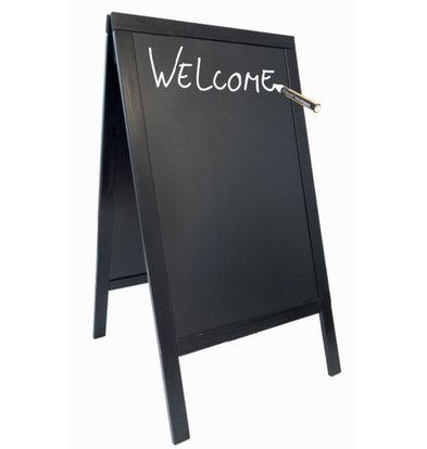 Securit Stoepbord Black - Duplo 70x125 - BASIC - XXL Offer