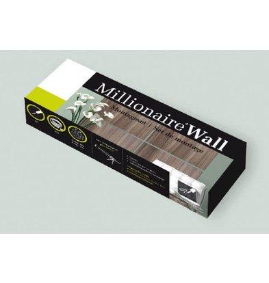 Millionaire Wall Millionaire Wall Mounting Kit - Mounting 4-6 Panels