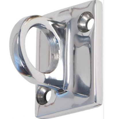 Securit Wall Outlet Hook Strings Chrome | Deluxe