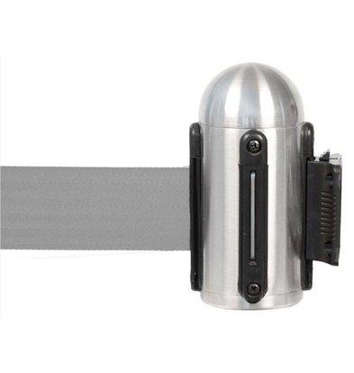 Securit Muursysteem Chroom - Grijs trekband | Deluxe | 210 CM