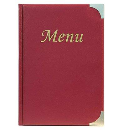 Securit Basic menu - Wine - 10 x A5