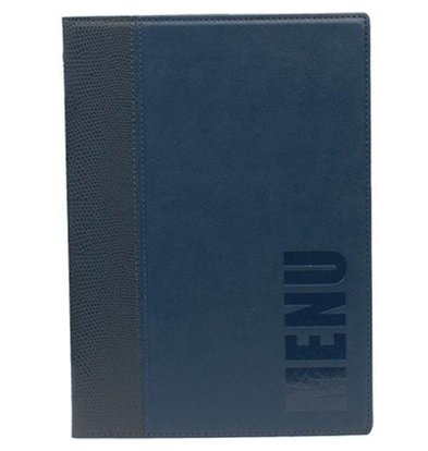 Securit Horeca Menukaart Trendy - Blauw A5
