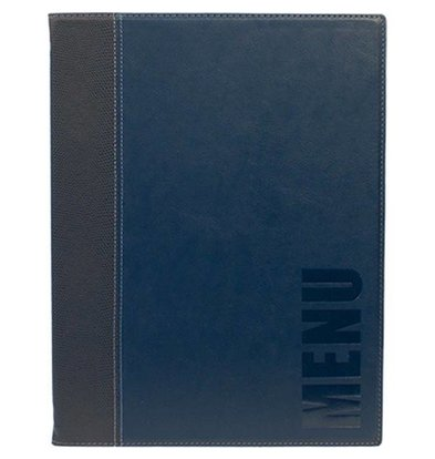 Securit Horeca Menukaart Trendy - Blauw A4