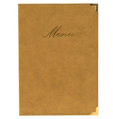 Securit Classic menu folder - Ivory A4